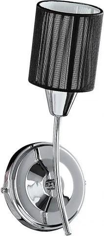 Rábalux 6004 Nástenné Lampy chróm E14 1X MAX 9W 110 x 285 mm