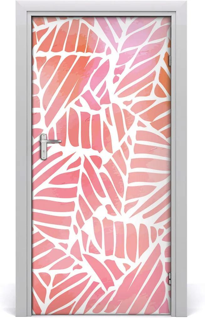Fototapeta na dveře Abstraktní vzor