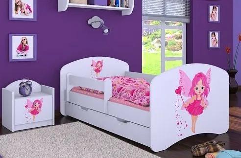 MAXMAX Detská posteľ so zásuvkou 160x80cm VÍLA