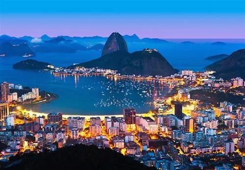 Vliesové fototapety, rozmer 366 x 254 cm, Rio De Janero, W+G 00951