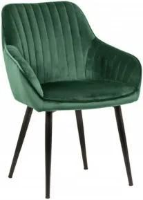 TURIN 2 stolička Zelená