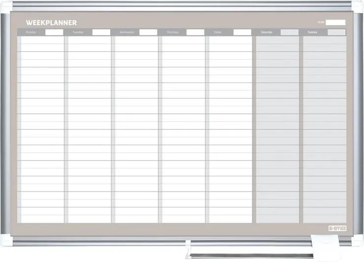 Bi-Office Týždenná plánovacia tabuľa