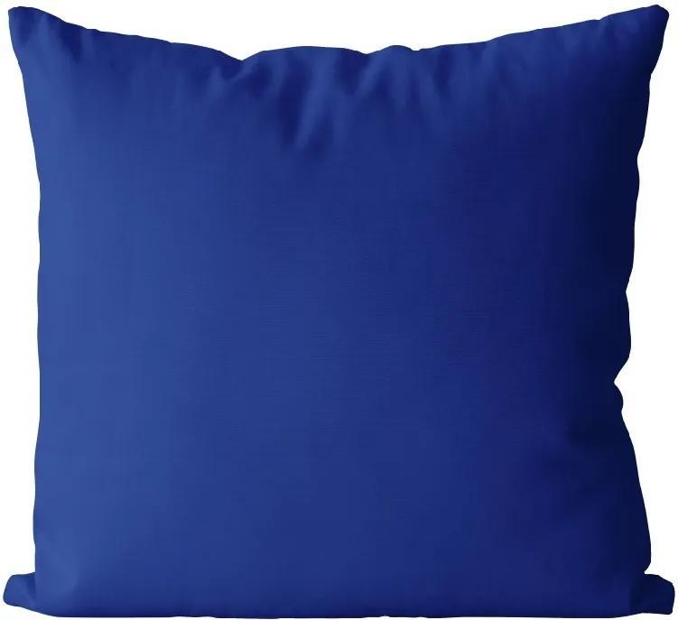 Vankúš Modrý námornícky (Veľkosť: 55 x 55 cm)