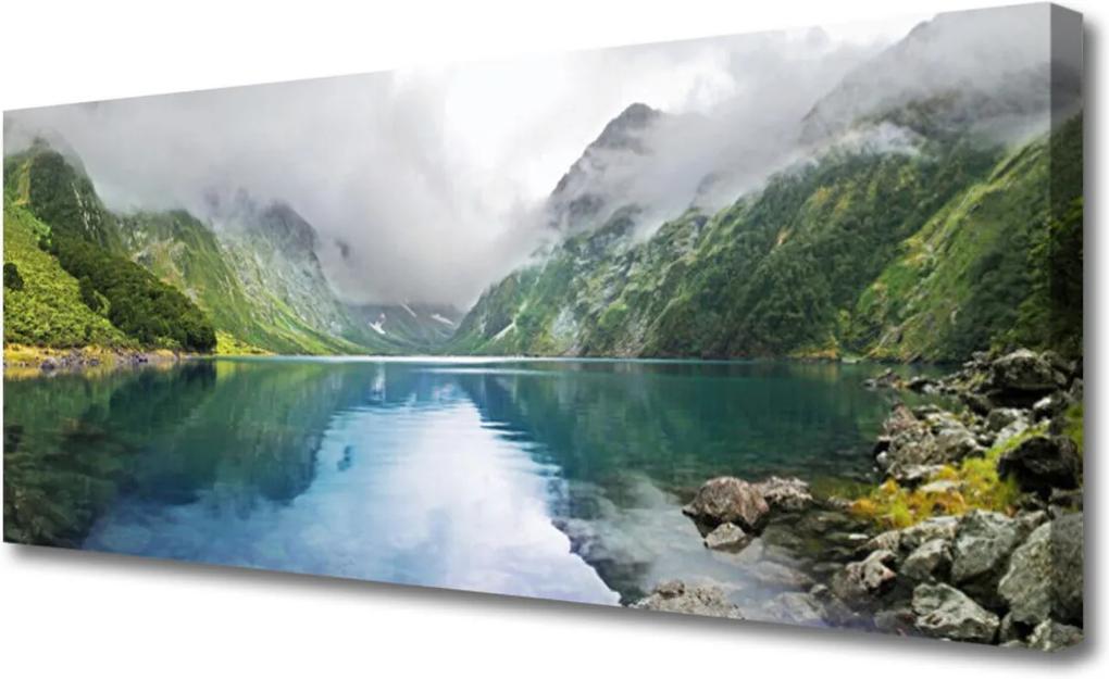 Obraz Canvas Hora Jazero Príroda