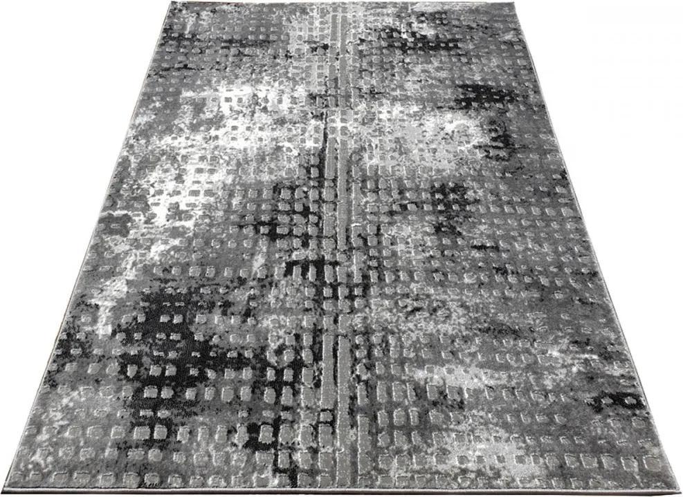 Kusový koberec Arty šedý, Velikosti 140x190cm