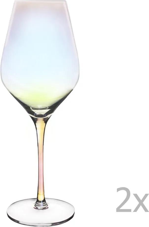 Sada 2 pohárov na biele víno Orion Luster, 500 ml