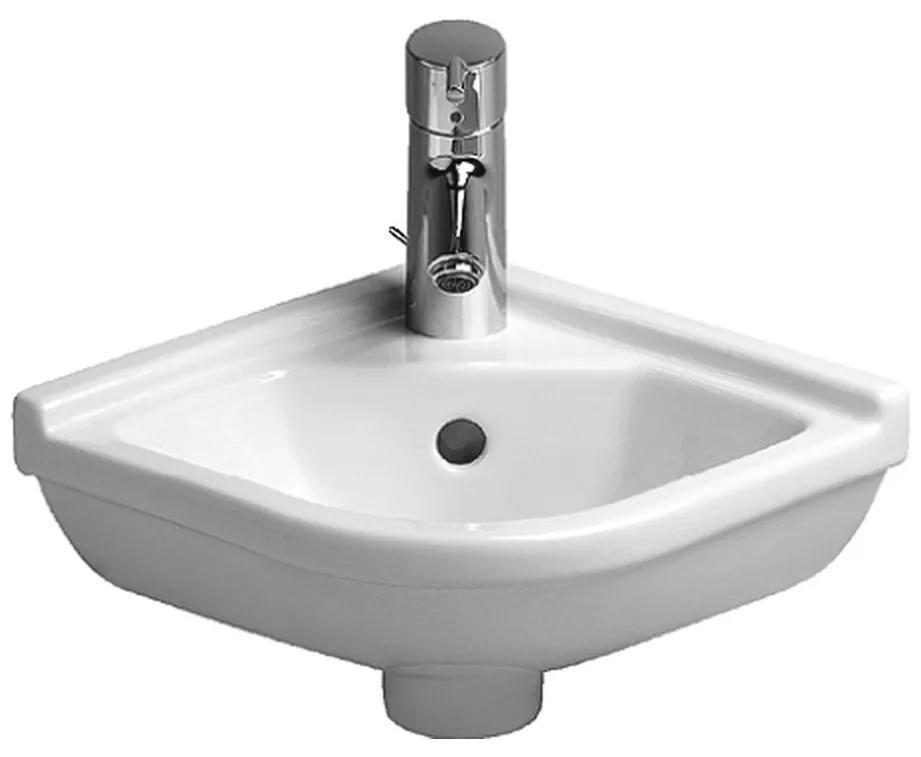 Duravit Starck 3 - rohové umývadielko 43x38 cm 0752440000