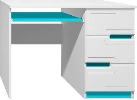 MAXMAX Písací stôl - BOSTON TYP A pre dievča|pre chlapca|pre všetkých