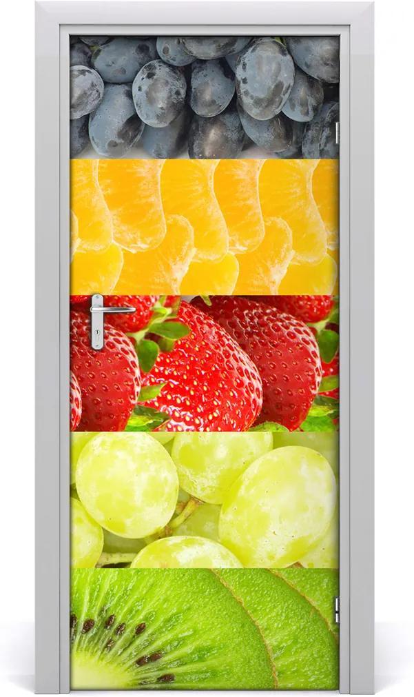 Fototapeta na dveře do domu samolepící Ovoce