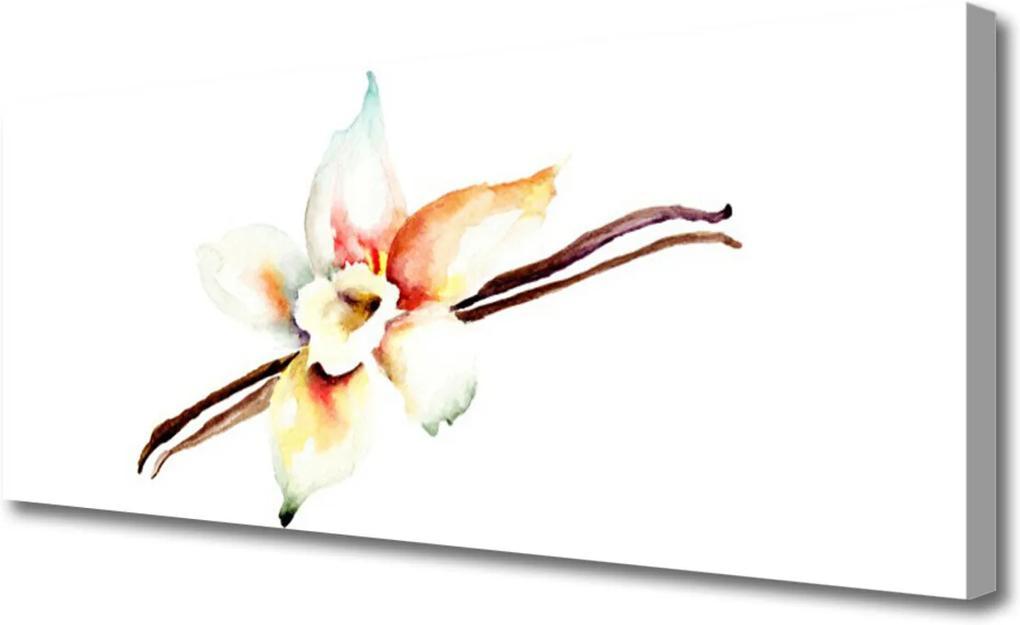 Obraz na plátně Skleněný květ umění