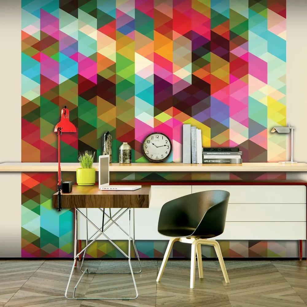 Fototapeta - Colourful Geometry 200x154