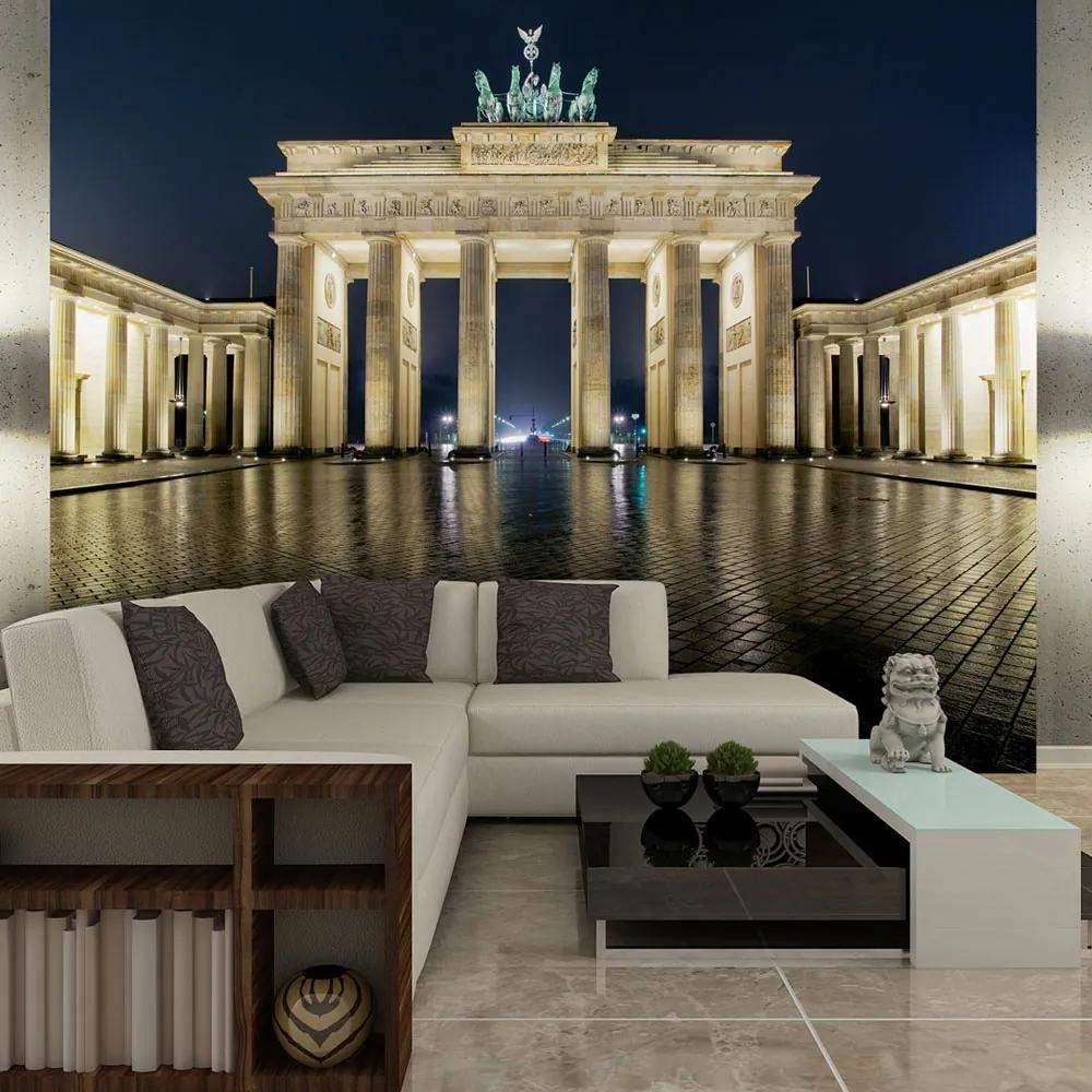 Fototapeta - Brandenburg Gate at night 450x270