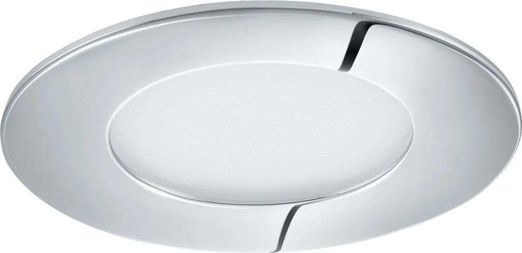 Zápustné - podhľadové svietidlo EGLO FUEVA 1 chróm LED 96053