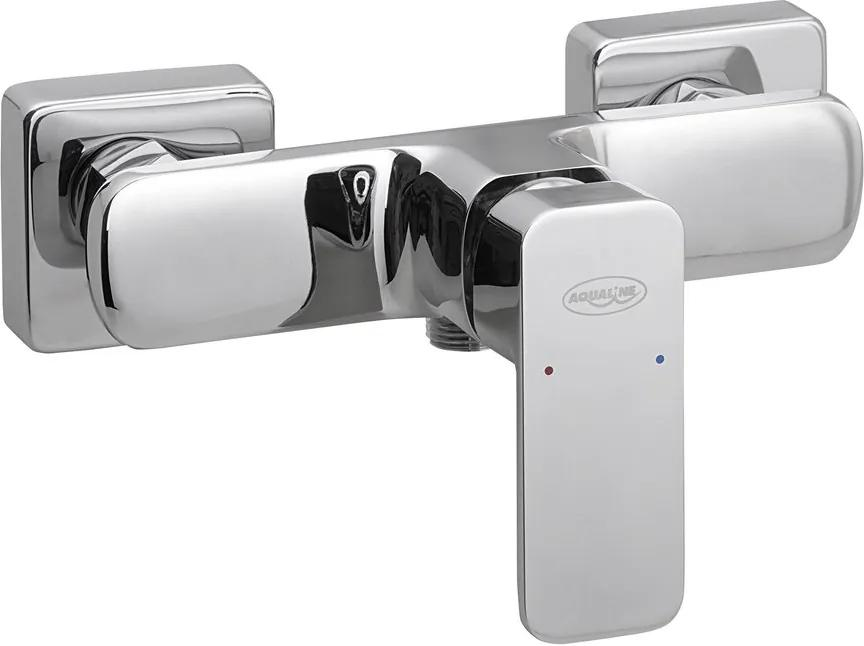 AQUALINE - FACTOR nástěnná sprchová baterie, chrom (FC411)