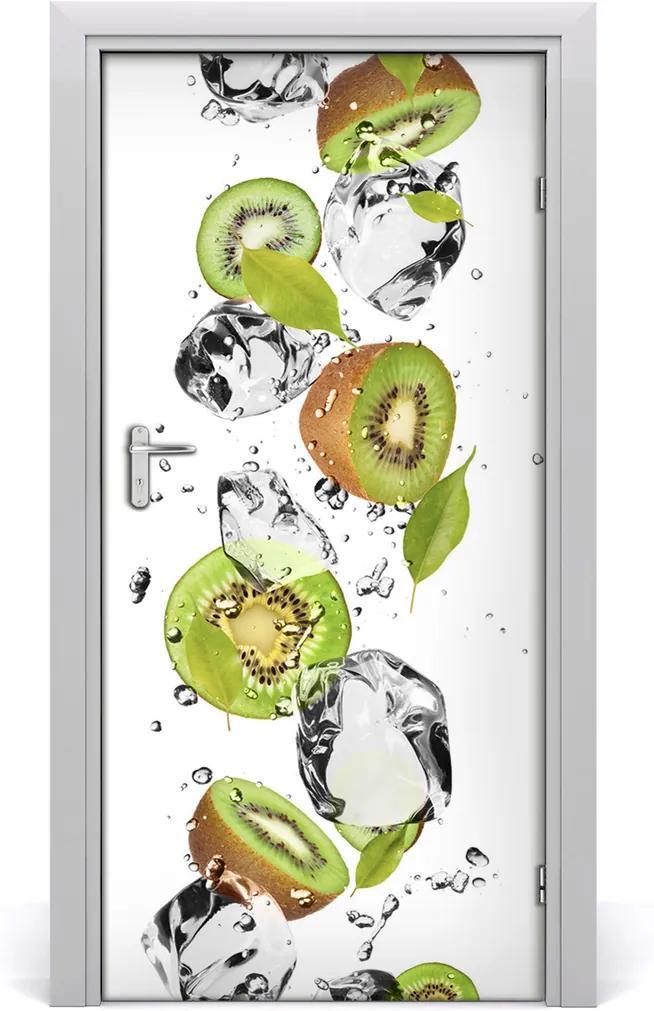 Fototapeta na dveře samolepící Kiwi a voda