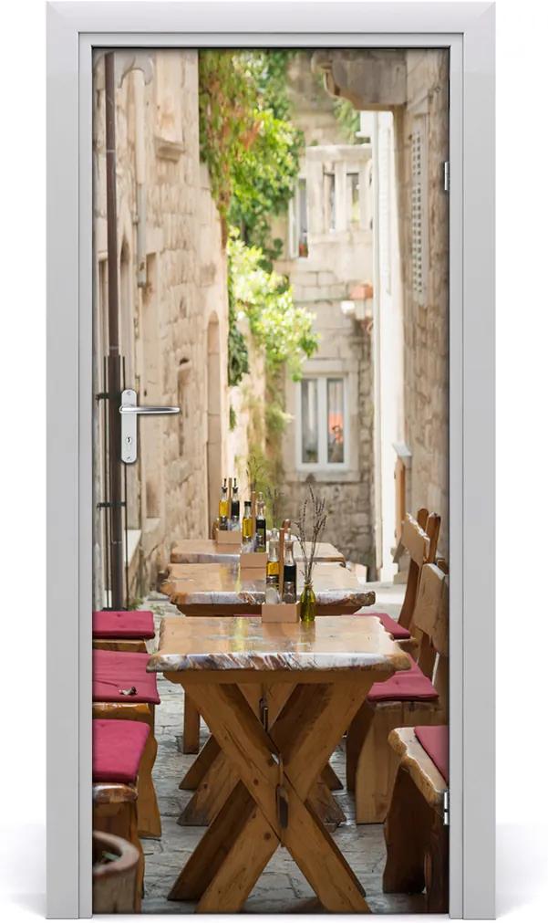 Fototapeta samolepící dveře Korčula chorvatsko