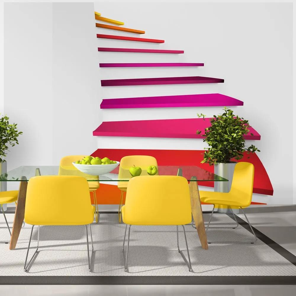 Fototapeta - Colorful stairs 400x280