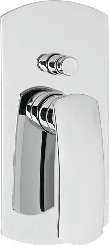 Effepi Flo 7188 podomietková vaňová batéria, 2 výstupy, chróm