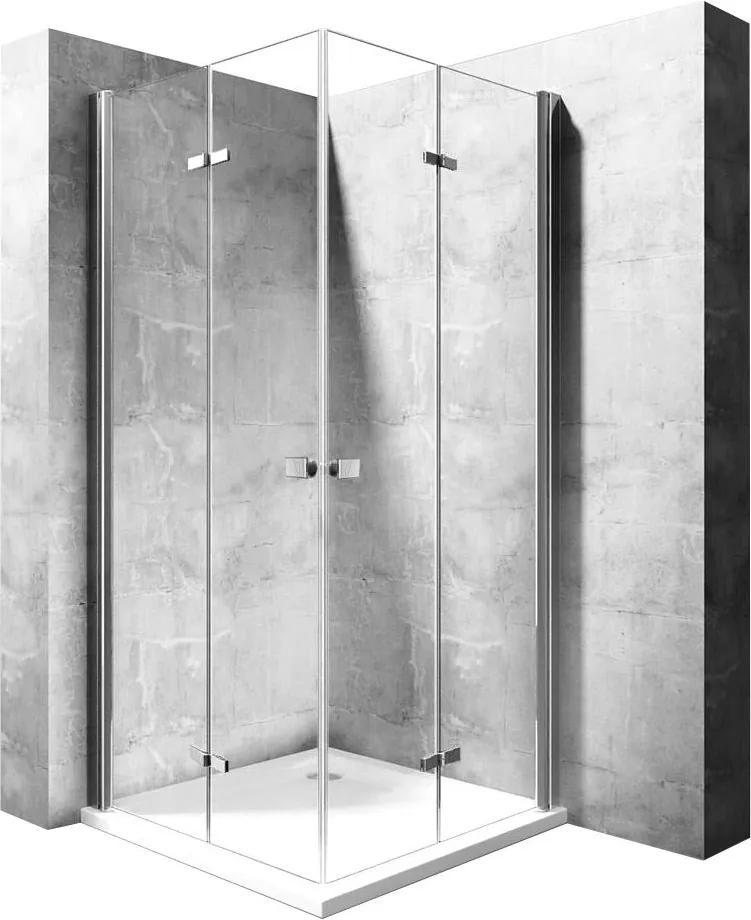 MAXMAX Sprchovací kút BEST DOUBLE 70x80 cm 80 obdélníkový