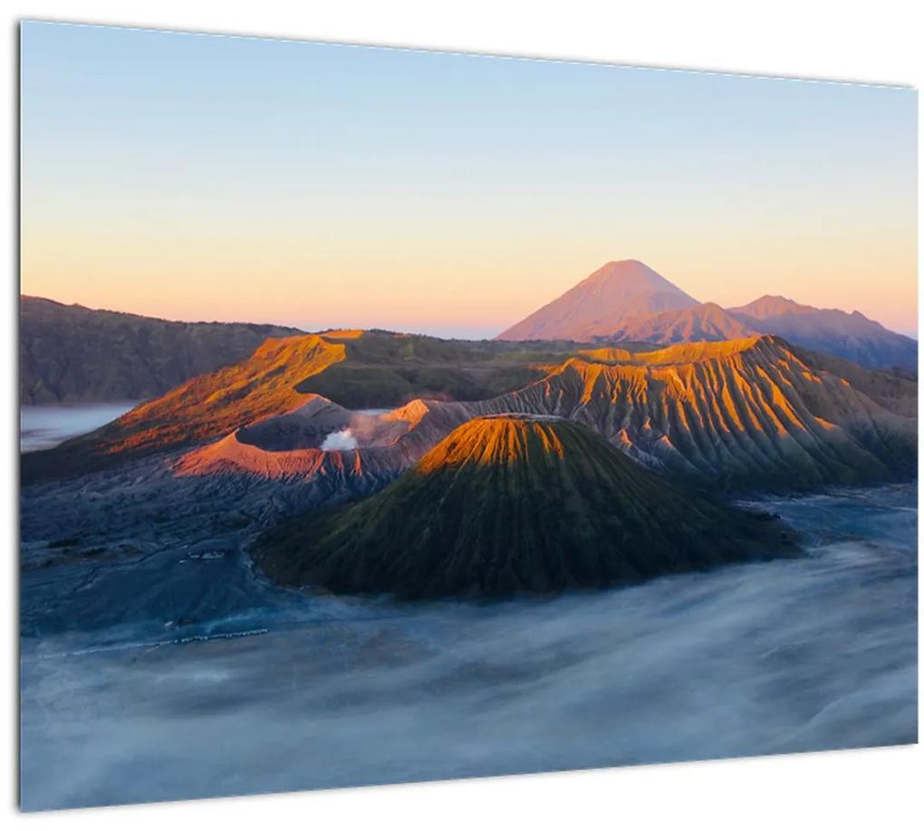 Obraz hory Bromo v Indonézii (70x50 cm), 40 ďalších rozmerov