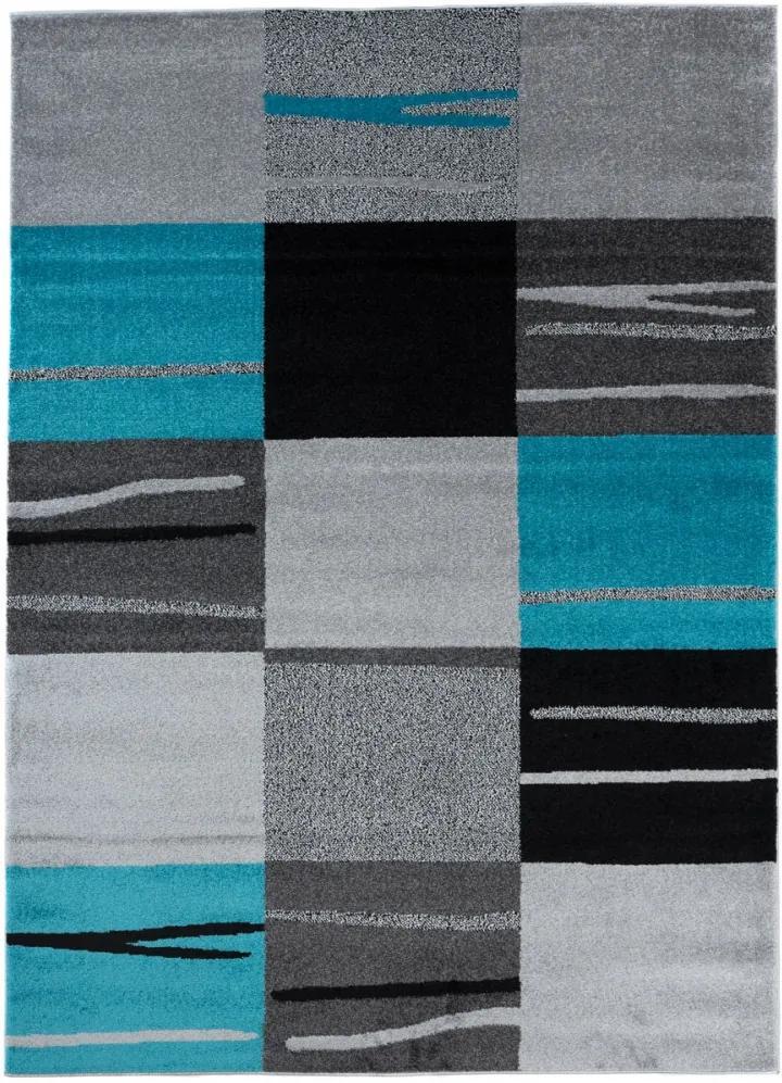 Kusový koberec Verso modrý 120x170, Velikosti 120x170cm