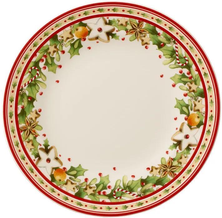 Dezertný tanier 21,5 cm Winter Bakery Delight