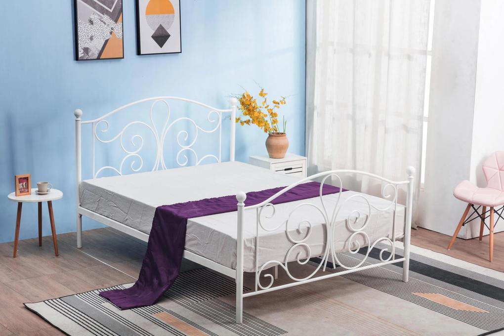 Kovová posteľ Parenzana, 120x120cm