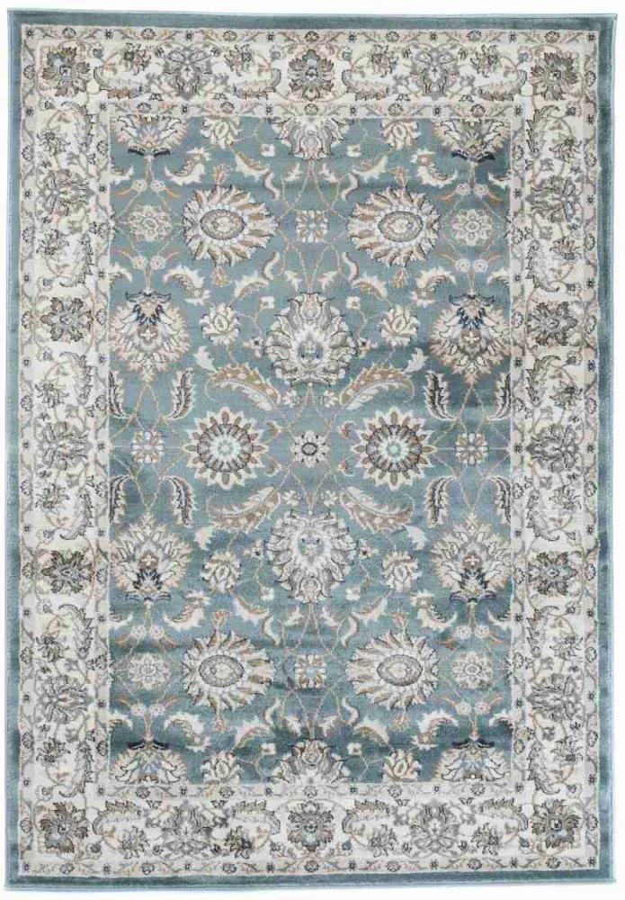 Kusový koberec Bora modrý, Velikosti 140x200cm