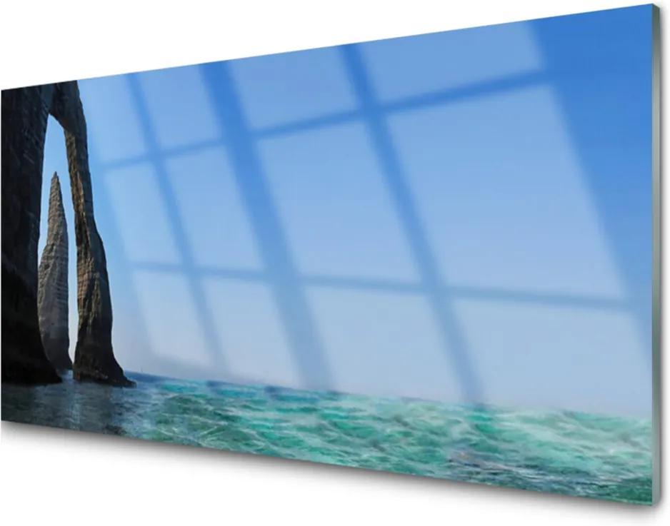 Obraz plexi Skala More Príroda