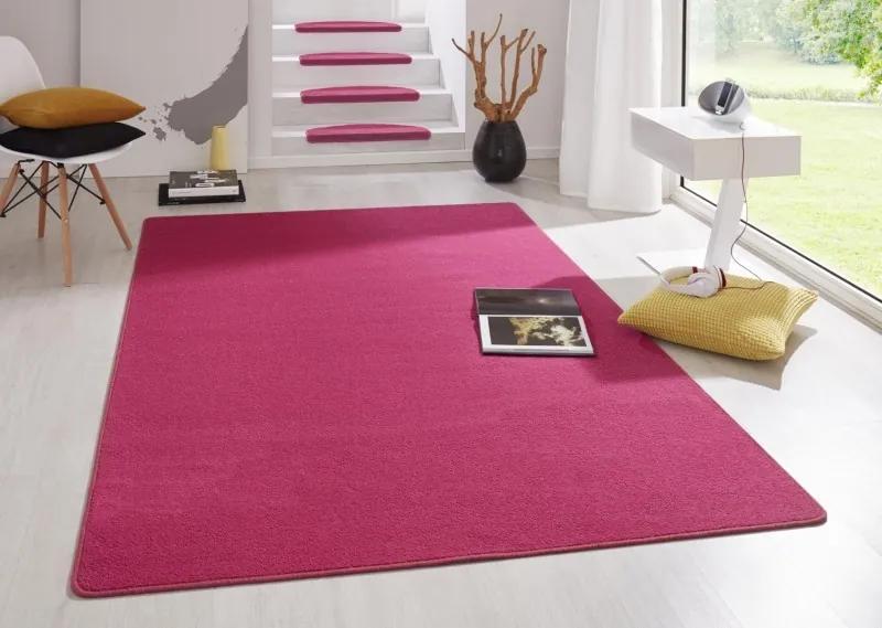 Hanse Home Collection koberce Kobercová sada Fancy 103011 Pink - (3 díly; 2x 67x140 cm; 1x 67x250 cm) cm