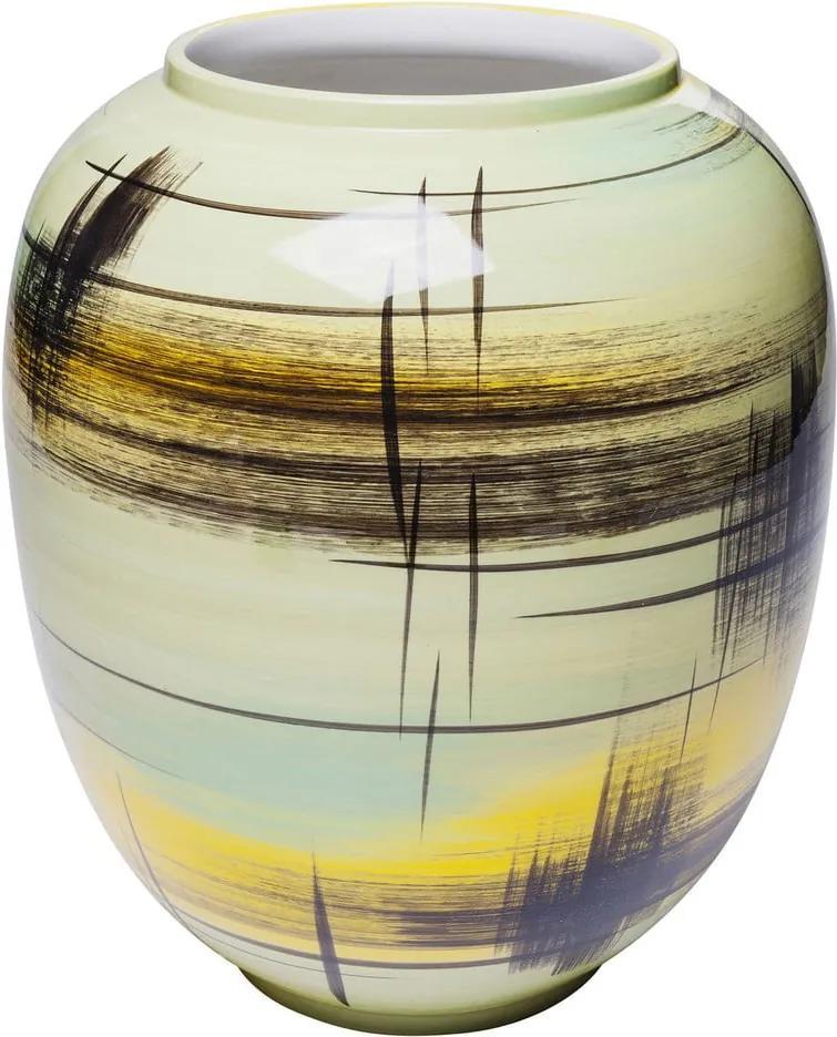 Dekoratívna porcelánová váza Kare Design, výška 31 cm
