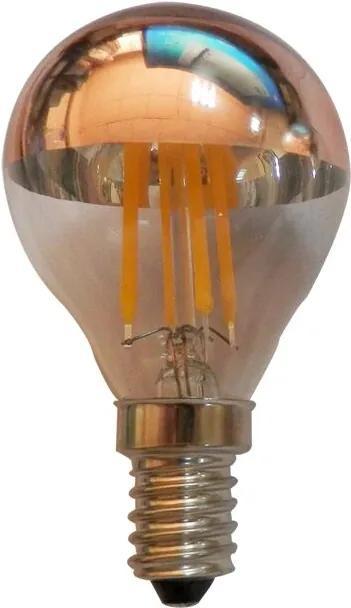 LED Ball 4W Filament medený vrchlík E14