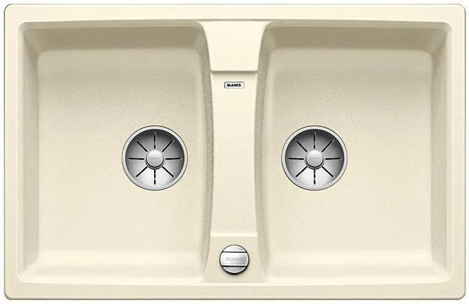 Granitový kuchynský drez - Blanco LEXA 8 JAMin s excentrom 524955