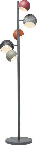 KARE DESIGN Stojaca lampa Calotta Antico 5 svetiel