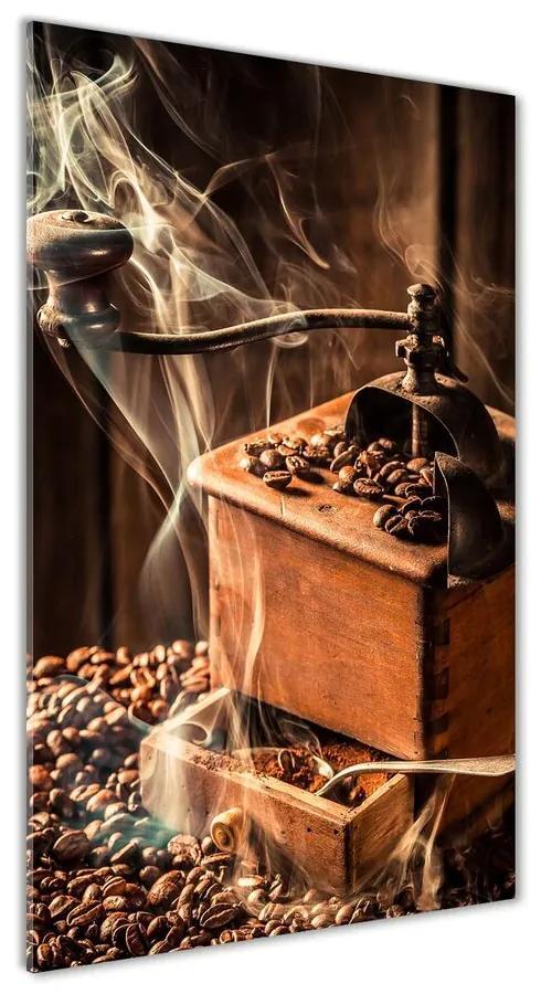 Moderný akrylový fotoobraz Zrnká kávy pl-oa-70x140-f-118694149