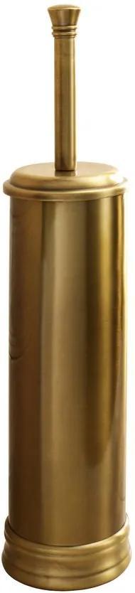 Gedy 753344 WC kefa na postavenie, bronz