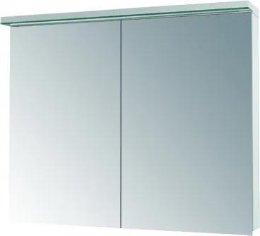 Dřevojas - Dvoudvéřová galerka ASTON GA2OE 100 - D08 Wenge (135362)