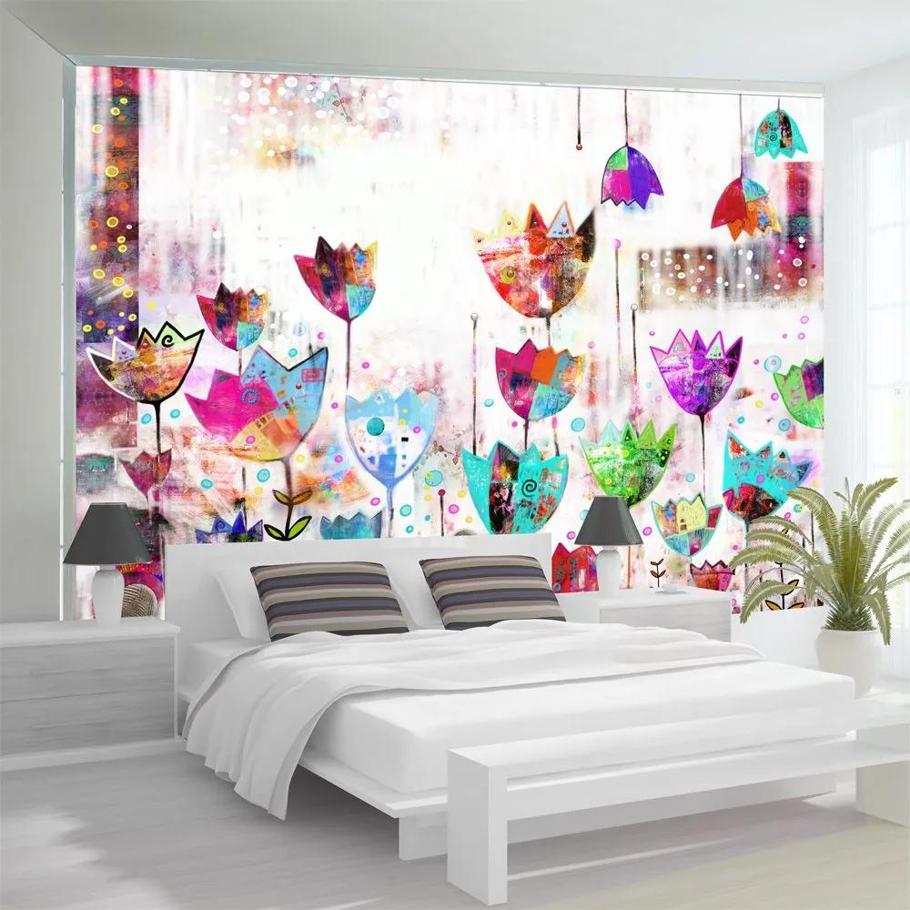 Fototapeta - Colorful tulips 400x280
