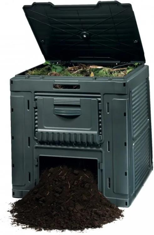 E - kompostér 470L - s podstavcom