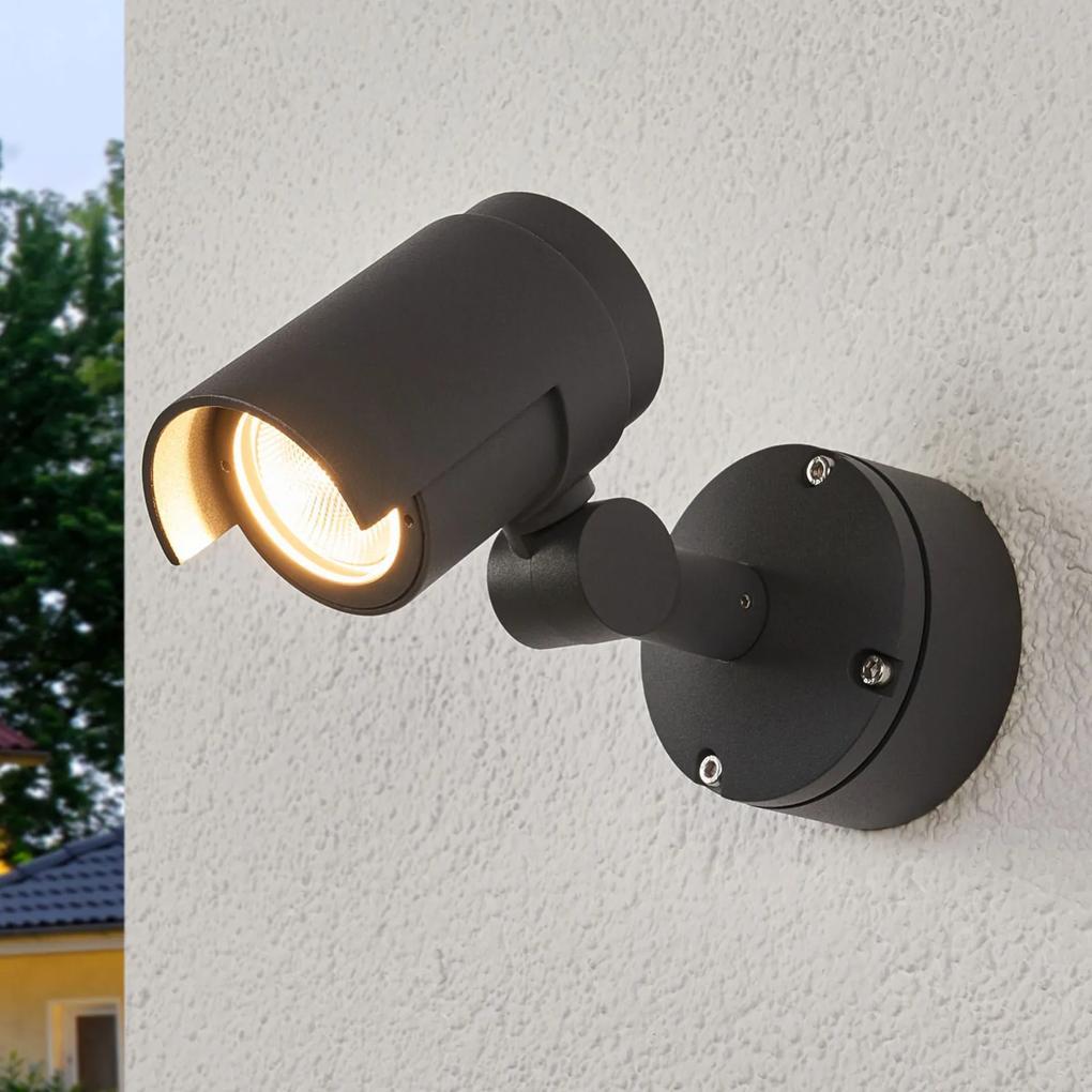 Vonkajšie LED svietidlo Beatrix tmavosivé