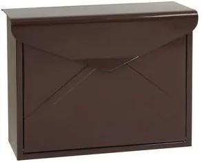 Kovová poštová schránka Elop so zadným vhadzovacím otvorom