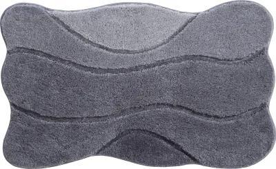 Grund Kúpeľňová predložka Curts, sivá, 80x140 cm