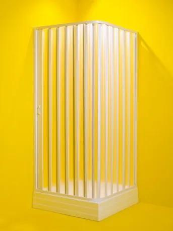 HOPA - Čtvercový sprchový kout VENERE - Univerzální, Plast bílý, Polystyrol 2,2 mm (acrilico), 80 cm, 80 cm (OLBVEN80)