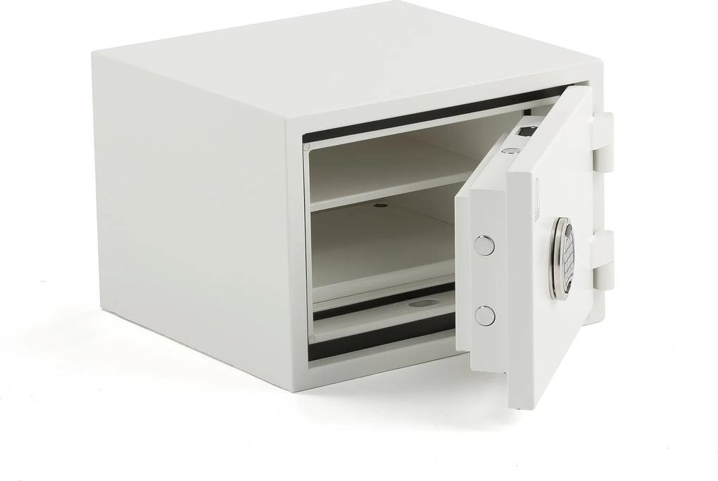 Bezpečnostná ohňovzdorná skrinka Fort s kódovým zámkom, 345x480x460 mm