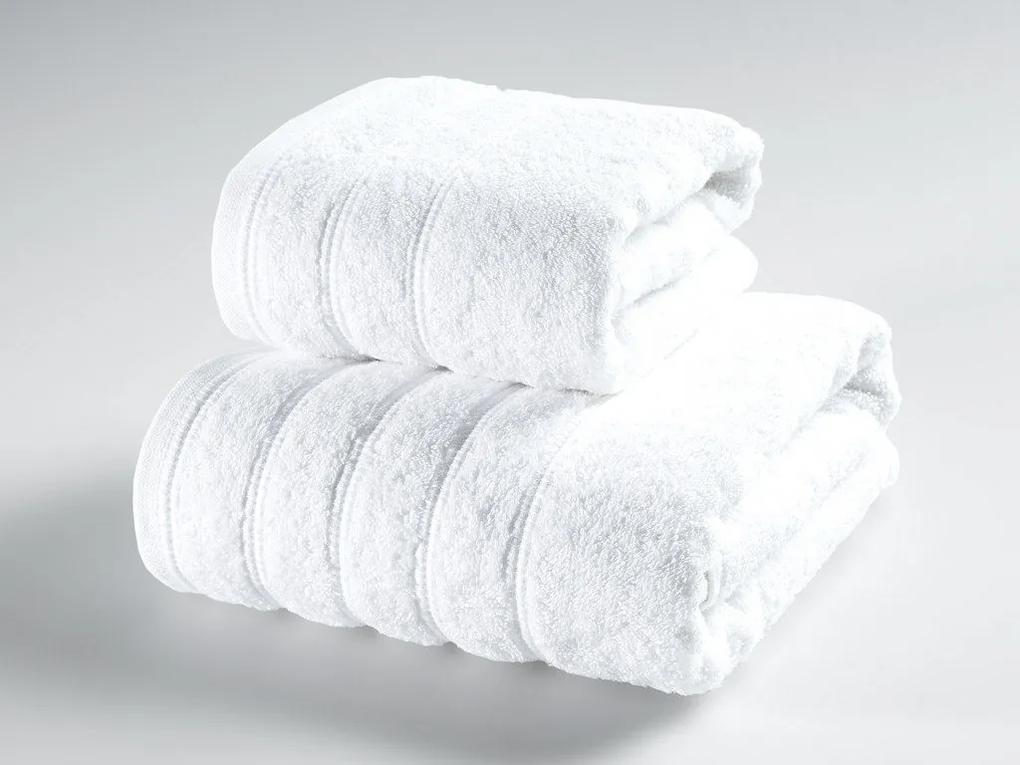 Škodák Froté uterák / osuška Solid vzor 008 biely - Uterák 50 x 90 cm