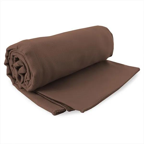 Rýchloschnúci uterák Ekea hnedý hneda