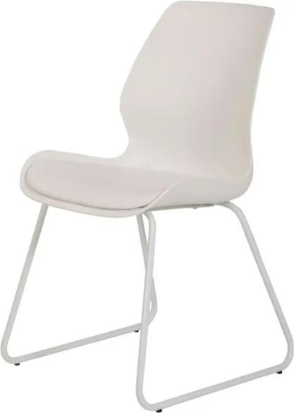 Sconto Jedálenská stolička LENA S BK biela