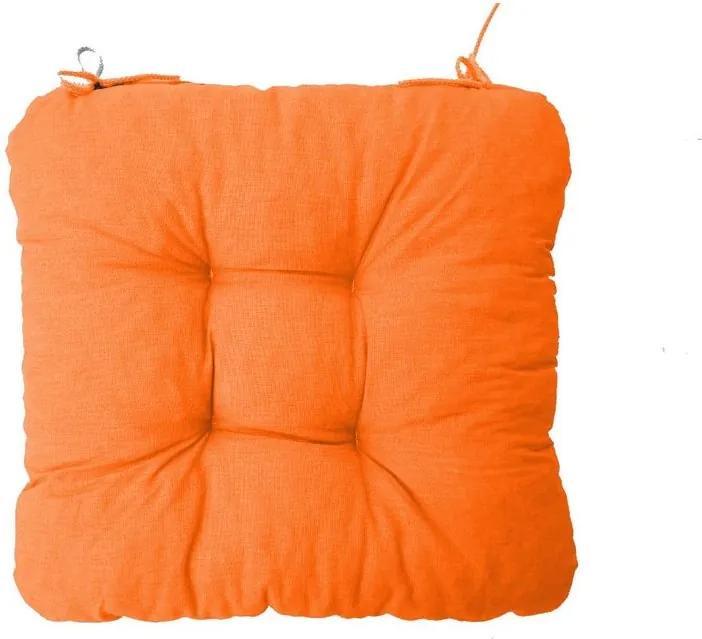Podložka na stoličku Soft oranžová