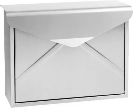 Poštová schránka RICHTER BK57 (BIELA, STRIEBORNÁ, HNEDÁ) - Oceľ hnedá