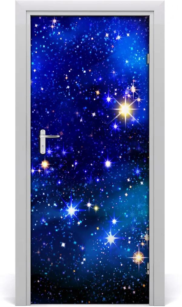 Fototapeta samolepící dveře Hvězdné nebe